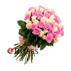 """Bouquet """"Angel"""" 51 roses"""