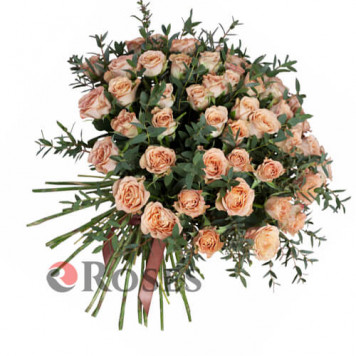 """Bouquet """"The Hill"""" 51 roses"""
